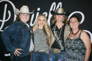 National Recording Artist Danielle Bradbery with Logan County Fair Royalty